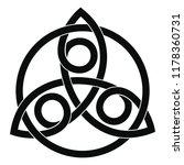 celtic national ornament...   Shutterstock .eps vector #1178360731