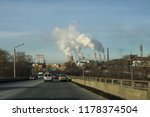 industrial landscape with... | Shutterstock . vector #1178374504