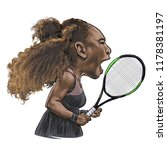 september 13  2018 caricature... | Shutterstock . vector #1178381197