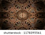 enchanting oriental wall and... | Shutterstock . vector #1178395561