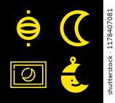 science icons set with planet ... | Shutterstock .eps vector #1178407081