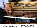 tuning the piano sound and note ... | Shutterstock . vector #1178436271