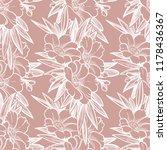 seamless pattern with garden... | Shutterstock .eps vector #1178436367