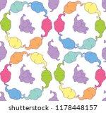 vector seamless children s... | Shutterstock .eps vector #1178448157