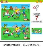 cartoon illustration of finding ... | Shutterstock .eps vector #1178456071