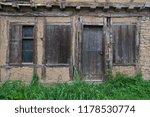 old house facade | Shutterstock . vector #1178530774
