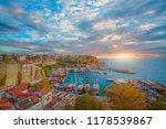 old town  kaleici  in antalya ... | Shutterstock . vector #1178539867
