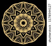 oriental mandala. vintage...   Shutterstock .eps vector #1178544127