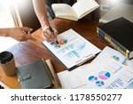 business presenting to... | Shutterstock . vector #1178550277