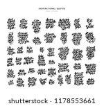 giant pack of inspirational... | Shutterstock .eps vector #1178553661