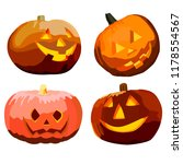 a set of differently shaped... | Shutterstock .eps vector #1178554567