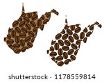 west virginia  united states of ...   Shutterstock .eps vector #1178559814