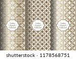 collection of luxury seamless... | Shutterstock .eps vector #1178568751