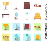 vector design of furniture and... | Shutterstock .eps vector #1178600977