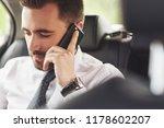 a businessman who sends a... | Shutterstock . vector #1178602207