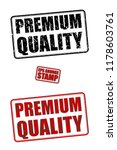 premium quality red and black... | Shutterstock .eps vector #1178603761