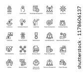 reputation management icons | Shutterstock .eps vector #1178606137