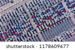 new cars from the car factory...   Shutterstock . vector #1178609677