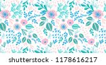 seamless pattern print with... | Shutterstock . vector #1178616217