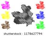 castilla la mancha  kingdom of... | Shutterstock .eps vector #1178627794