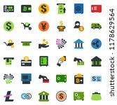 colored vector icon set   safe... | Shutterstock .eps vector #1178629564