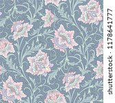 floral seamless pattern.... | Shutterstock .eps vector #1178641777