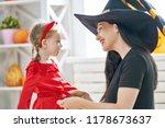 happy family preparing for... | Shutterstock . vector #1178673637