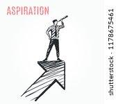 aspiration  business concept... | Shutterstock .eps vector #1178675461