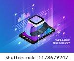 isometric illustrations design... | Shutterstock .eps vector #1178679247