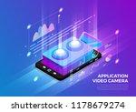 isometric illustrations design... | Shutterstock .eps vector #1178679274
