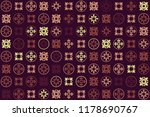 beautiful vintage floral... | Shutterstock .eps vector #1178690767