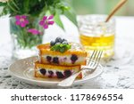gourmet breakfast.  french... | Shutterstock . vector #1178696554