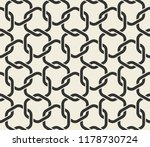 seamless pattern with geometric ... | Shutterstock .eps vector #1178730724