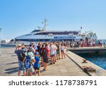 kos  greece   july 4  2018. a...   Shutterstock . vector #1178738791