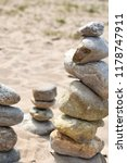 stones at the beach | Shutterstock . vector #1178747911