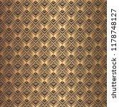 art deco pattern. seamless... | Shutterstock .eps vector #1178748127