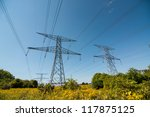 An Electrical Pylon Or Tower ...