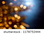 abstract christmas bokeh... | Shutterstock . vector #1178752444