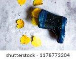 children's rubber boots and... | Shutterstock . vector #1178773204