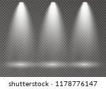 the spotlight shines on the... | Shutterstock .eps vector #1178776147
