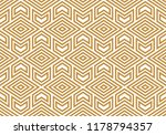 abstract geometric pattern with ... | Shutterstock .eps vector #1178794357