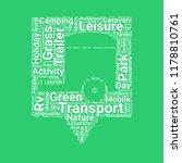 caravan location word cloud... | Shutterstock .eps vector #1178810761
