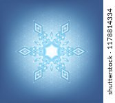 vector festive abstract mandala ... | Shutterstock .eps vector #1178814334