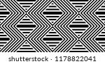 seamless pattern with striped... | Shutterstock .eps vector #1178822041