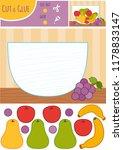 education paper game for... | Shutterstock .eps vector #1178833147