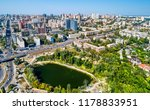 aerial view of kiev with... | Shutterstock . vector #1178833951