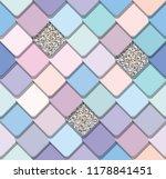 trendy fresco mosaic seamless... | Shutterstock .eps vector #1178841451