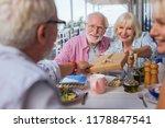 surprise from us. happy joyful... | Shutterstock . vector #1178847541