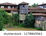 old houses of elena town ...   Shutterstock . vector #1178865061