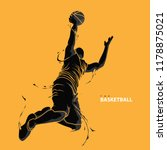 Basketball Player Splash...